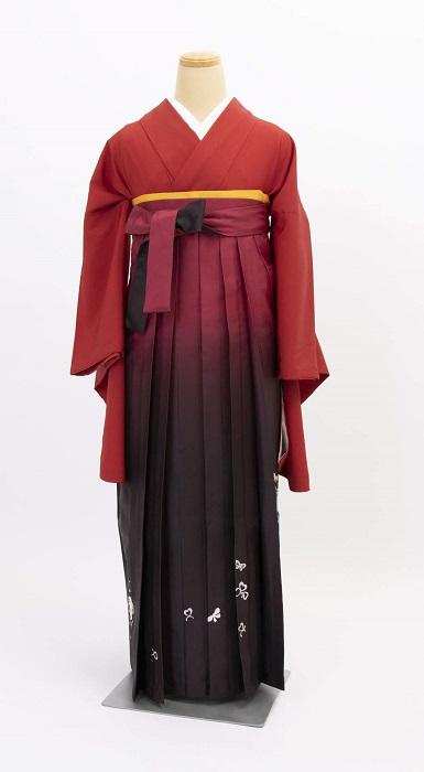 袴 撮影 卒業式 着物